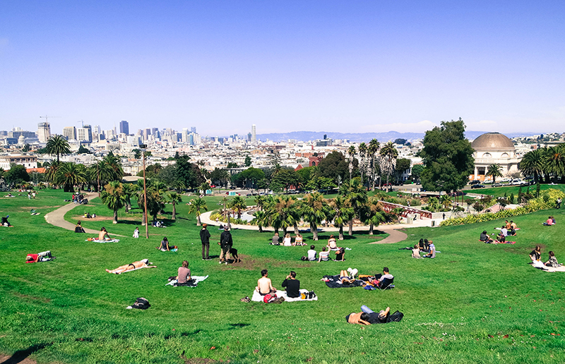 San Francisco Mission Dolores Park